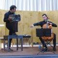 Bandonéon et violoncelle