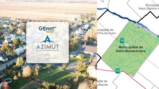 Azimut Gonet matrice graphique