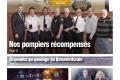 Nos pompiers récompensés