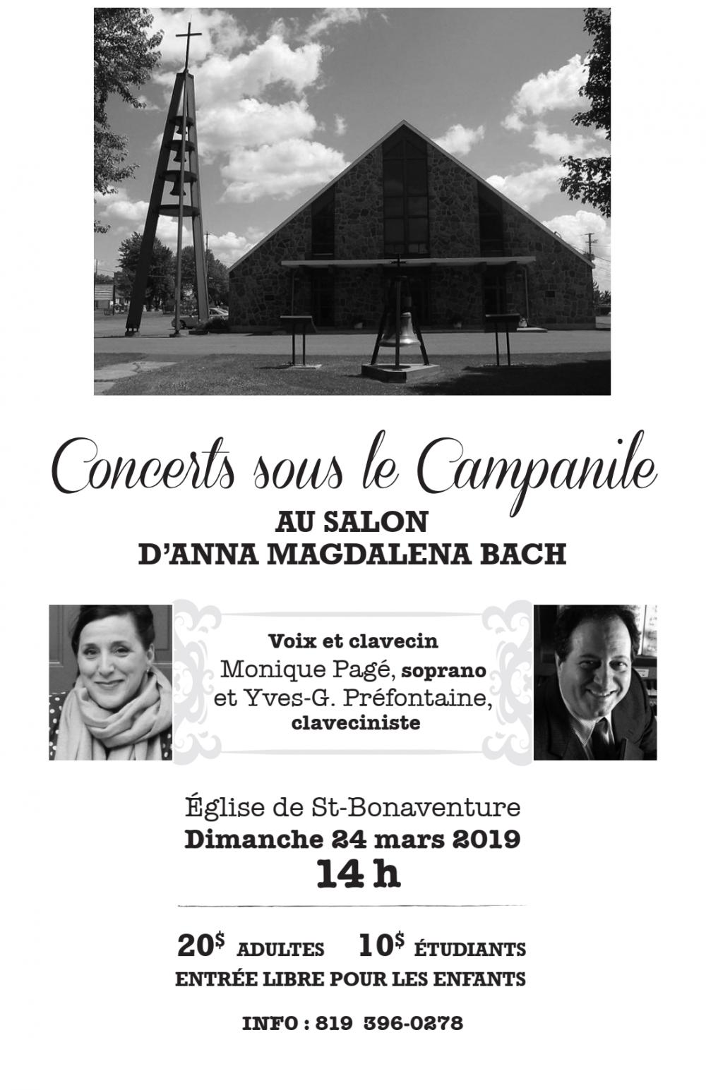 Concert sous le campanile