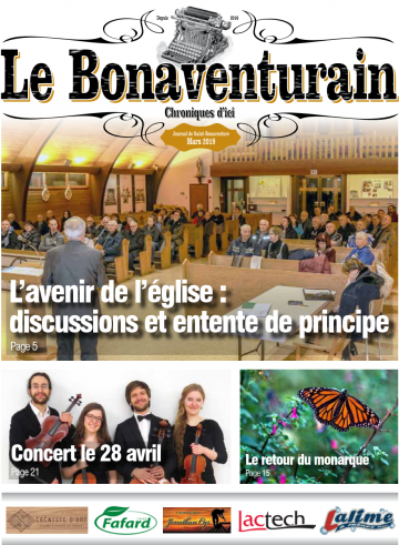 L'avenir de l'église: discussions et entente de principe