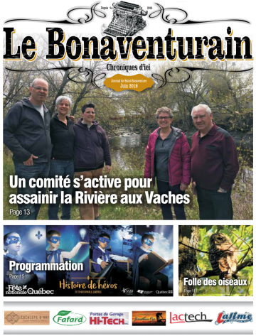 Bonaventurain, édition juin 2018